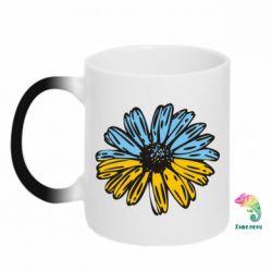 Кружка-хамелеон Українська квітка - FatLine