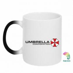 Кружка-хамелеон Umbrella Corp