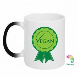 Кружка-хамелеон Vegan - FatLine