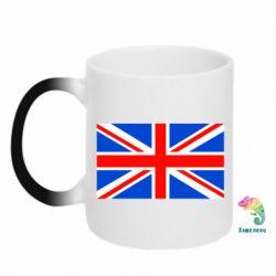 Кружка-хамелеон Великобритания - FatLine