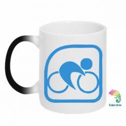 Кружка-хамелеон Велоспорт - FatLine