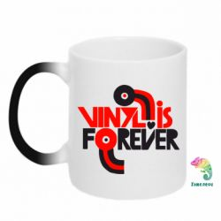 Кружка-хамелеон Vinyl is forever - FatLine