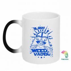 Кружка-хамелеон Weed Vader - FatLine