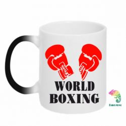Кружка-хамелеон World Boxing