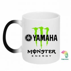 Кружка-хамелеон Yamaha Monster Energy