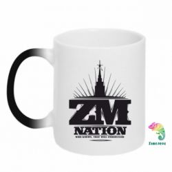Кружка-хамелеон ZM Nation GUf
