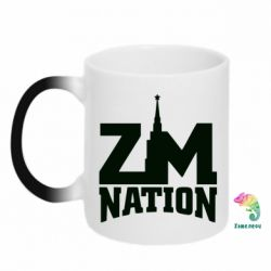 Кружка-хамелеон ZM Nation - FatLine