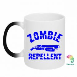 Кружка-хамелеон Zombie repellent - FatLine