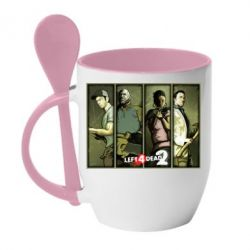 Кружка с керамической ложкой Left 4 Dead 2 - FatLine