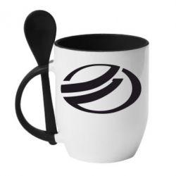 Кружка с керамической ложкой ZAZ - FatLine