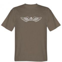 Мужская футболка Крылья десанта - FatLine
