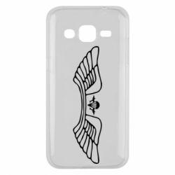 Чохол для Samsung J2 2015 Крила десанту