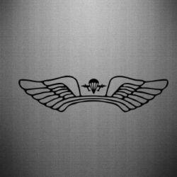 Наклейка Крылья десанта - FatLine