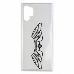 Чохол для Samsung Note 10 Plus Крила десанту