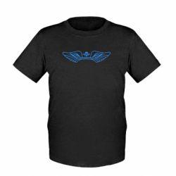 Детская футболка Крылья десанта - FatLine