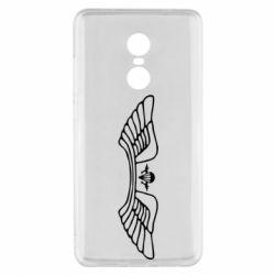 Купить ВДВ, Чехол для Xiaomi Redmi Note 4x Крылья десанта, FatLine