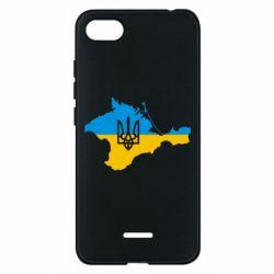 Чехол для Xiaomi Redmi 6A Крым это Украина - FatLine