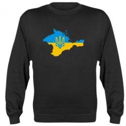 Реглан (свитшот) Крым это Украина - FatLine