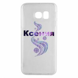 Чехол для Samsung S6 EDGE Ксения