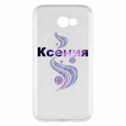 Чехол для Samsung A7 2017 Ксения