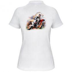 Женская футболка поло KTM Art