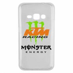 Чехол для Samsung J1 2016 KTM Monster Enegry