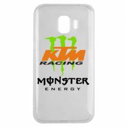 Чехол для Samsung J2 2018 KTM Monster Enegry