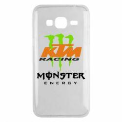 Чехол для Samsung J3 2016 KTM Monster Enegry
