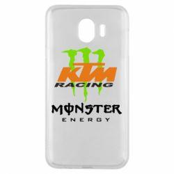 Чехол для Samsung J4 KTM Monster Enegry