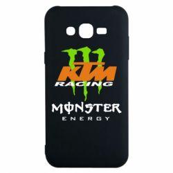 Чехол для Samsung J7 2015 KTM Monster Enegry