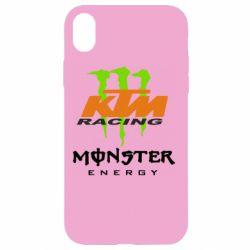 Чехол для iPhone XR KTM Monster Enegry