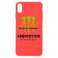 Чехол для iPhone Xs Max KTM Monster Enegry