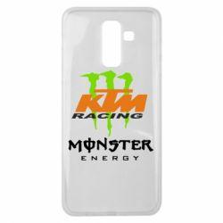 Чехол для Samsung J8 2018 KTM Monster Enegry