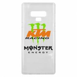 Чехол для Samsung Note 9 KTM Monster Enegry