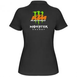 Женская футболка поло KTM Monster Enegry - FatLine