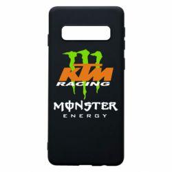 Чехол для Samsung S10 KTM Monster Enegry