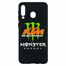 Чехол для Samsung M30 KTM Monster Enegry