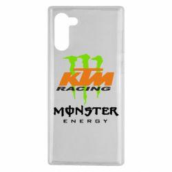 Чехол для Samsung Note 10 KTM Monster Enegry