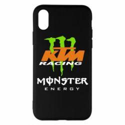 Чехол для iPhone X/Xs KTM Monster Enegry