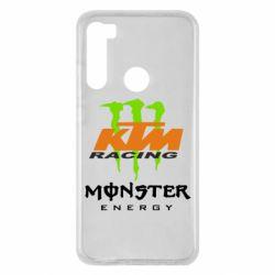 Чехол для Xiaomi Redmi Note 8 KTM Monster Enegry