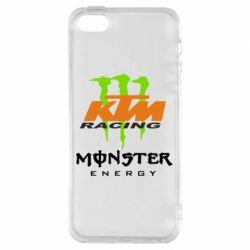 Чохол для iphone 5/5S/SE KTM Monster Enegry