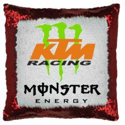 Подушка-хамелеон KTM Monster Enegry