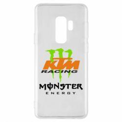 Чехол для Samsung S9+ KTM Monster Enegry
