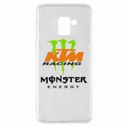 Чехол для Samsung A8+ 2018 KTM Monster Enegry