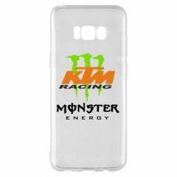 Чехол для Samsung S8+ KTM Monster Enegry