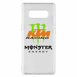 Чехол для Samsung Note 8 KTM Monster Enegry