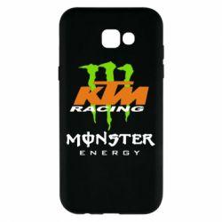 Чехол для Samsung A7 2017 KTM Monster Enegry