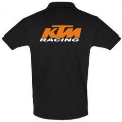 Мужская футболка поло KTM Racing