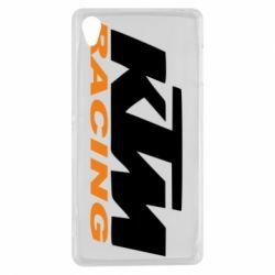 Чохол для Sony Xperia Z3 KTM Racing - FatLine