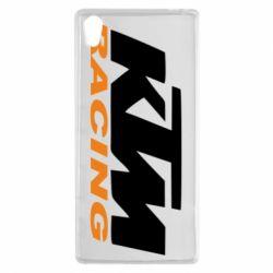 Чохол для Sony Xperia Z5 KTM Racing - FatLine
